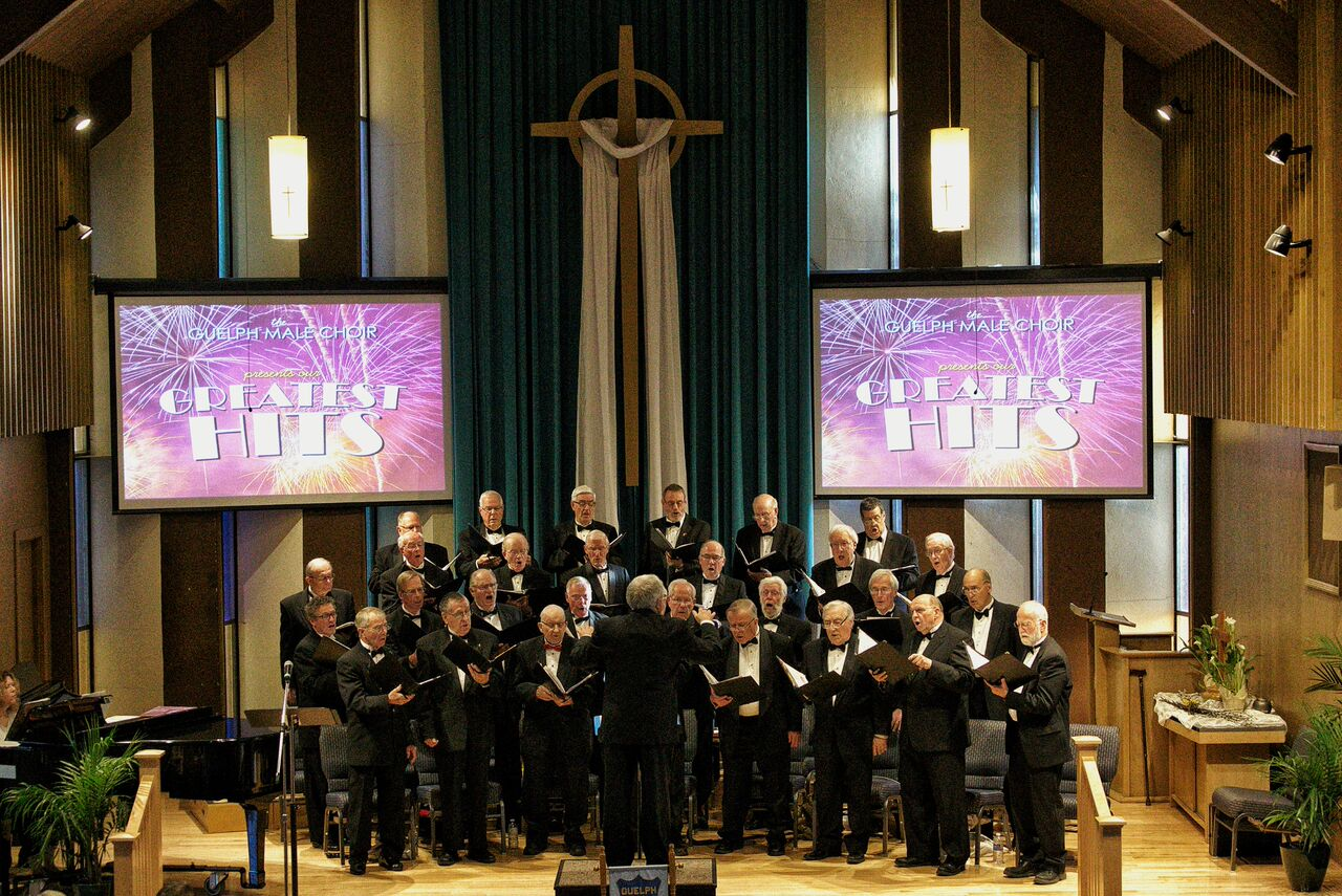 The Guelph Male Choir sings it's greatest hits