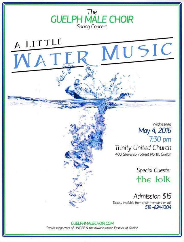 2016 Spring concert poster