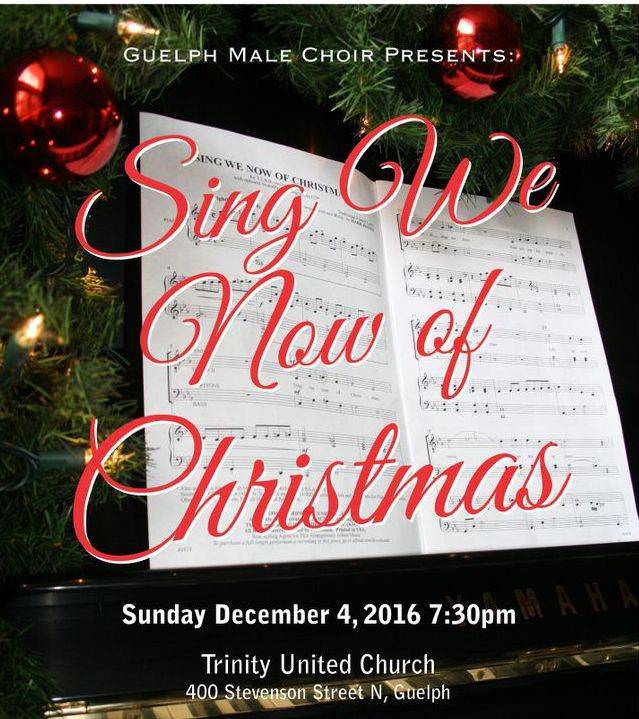 2016 Christmas concert poster