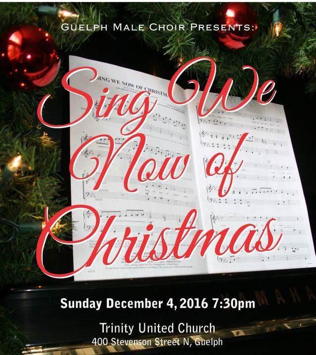 2016 Christmas concert poster